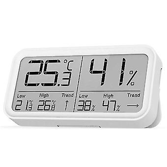 Digital thermometer hygrometer lcd display high precision temperature sensor humidity meter gauge for home indoor outdoor
