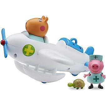 Peppa Pig Dr Hamster Eläinlääketieteellinen lentokone