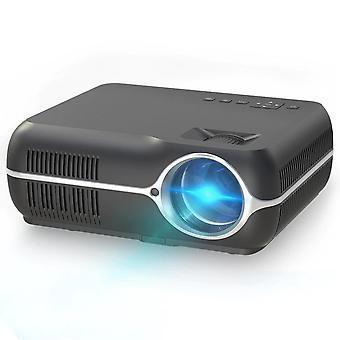 Video Home Cinema LED HD Video Projector(Black)