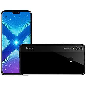 スマートフォン名誉8X 4GB / 64GB黒デュアルSIMヨーロッパ版