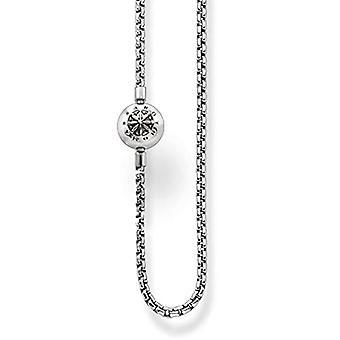 Thomas Sabo Karma Beads, Unisex, Collana, argento sterling 925 niellato(1)