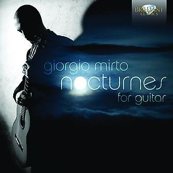 Mirto/Torresan/Manca/Di Salvo/Signorile/Albini/Puj - Nocturnes for Guitar [CD] USA import
