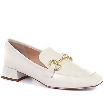 Staccato Womens Block Heeled Ladies Loafers