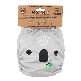 ZOOCCHINI One-Size Pocket Cloth Diaper with 2 inserts