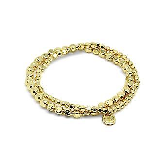 Boho betty sabal major gold nugget bracelet set