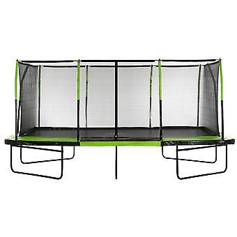 Red de seguridad envolvente de la carcasa del trampolín de reemplazo para marcos rectangulares