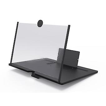 10Inch 23 *18*1.5cmブラック折りたたみ式目の保護スクリーン拡大ガラス、高精細ビデオプロジェクターaz10825