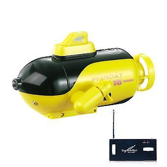 Barco submarino nuclear elétrico de controle remoto