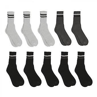 Chaussettes à deux rayures