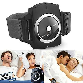 Electronic Snore Stopper Anti-Snore Wrist Bracelet Watch Device Sleep Aid