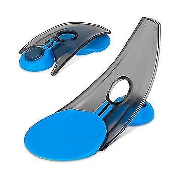 Golf Putter Trainer Simulates Hole Automatic Return Ball Foldable Golf Hole Cup(Blue)