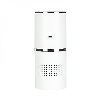 Portable Mini Usb Negative Ion Air Purifier With Colorful Lights