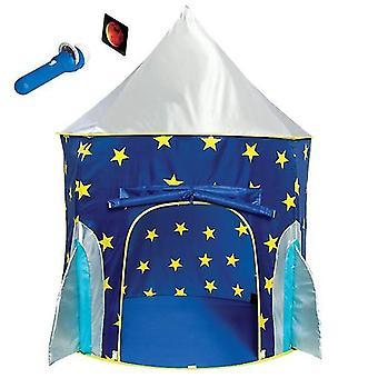 سفينة الصواريخ لعب خيمة للبنين خيمة سفينة الصواريخ، رائد فضاء خيمة الفضاء للأطفال ث / لعبة العرض