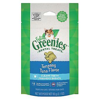 Greenies Feline Dental Treats Tempting Tuna Flavor - 2.1 oz
