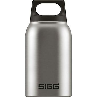 SIGG Hot and Cold Food Jar 0.5L Brushed Stainless Steel Drinking Bottle - 8618.2