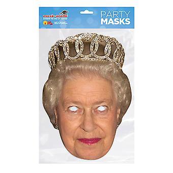 Maske-arade Dronning Elizabeth II Festmaske