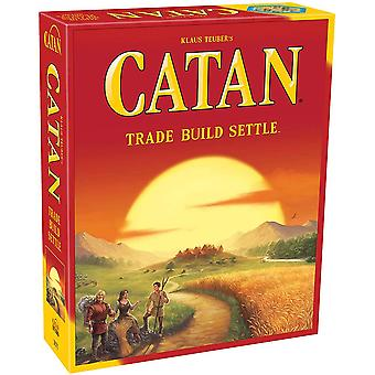 Catan Island Board Game (basic Game) family Board Game  adult And Family Board Game adventure Board Game  Over 10 Years Old   3 To 4 Players  average