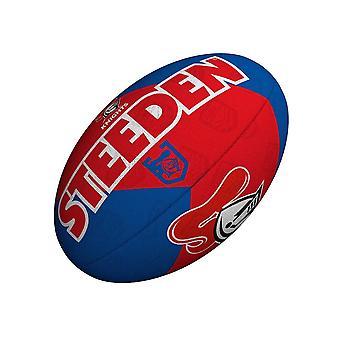 Steeden NRL ניוקאסל נייטס תומך 2021 רוגבי ליג כדור אדום /כחול