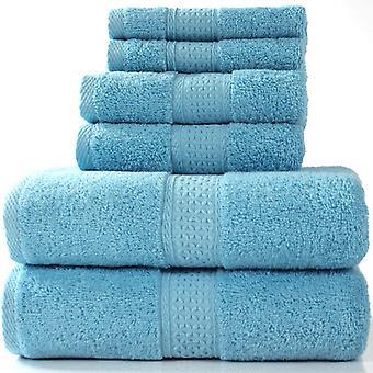 Towel Set Of Towels Set Of 6 Snakes 100% Cotton 950g / M, 2 Bath Towels + 2 Towels