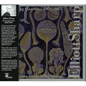 Elliott Sharp - Elliott Sharp: strijkkwartetten 2002-2007 [CD] USA import