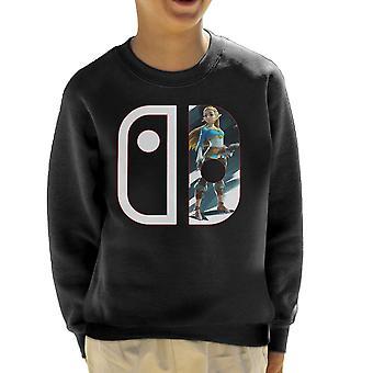 Nintendo przełącznik Legend Of Zelda Kid Bluza
