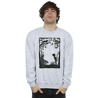 Disney Men's The Jungle Book Silhouette Poster Sweatshirt
