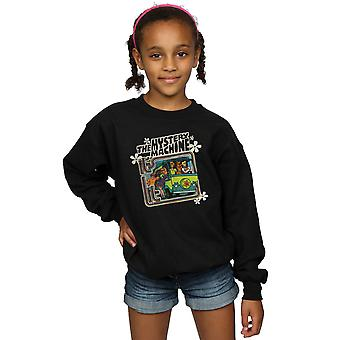 Scooby Doo Girls Mystery Machine Sweatshirt