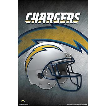 San Diego Chargers - Helmet 16 Poster Poster Print