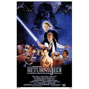 Star Wars Return Of The Jedi Poster Poster Print