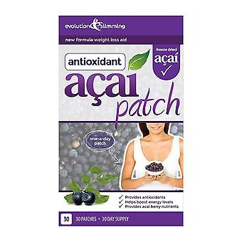 Acai Berry Patch with Green Tea - 30 Patches - Weight Loss Patch - Evolution Slimming
