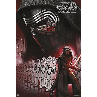 Star Wars Kylo Ren affiche Poster Print