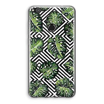 Huawei Ascend P8 Lite (2017) Transparant fall (Soft) - geometriska djungel