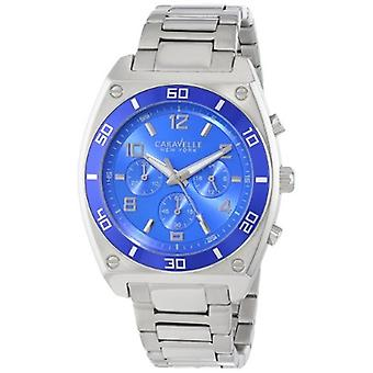 Caravelle New York Men's 45A109 Stainless Steel Bracelet Watch