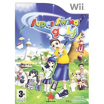 Super Swing Golf (Wii) - New
