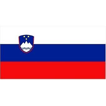 Slovenië/Sloveens vlag 5 ft x 3 ft (100% Polyester) met oogjes