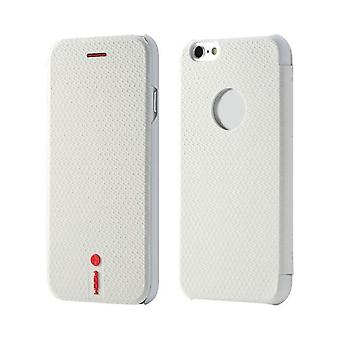 Original ROCK NFC smart cover white for Apple iPhone 6 4.7