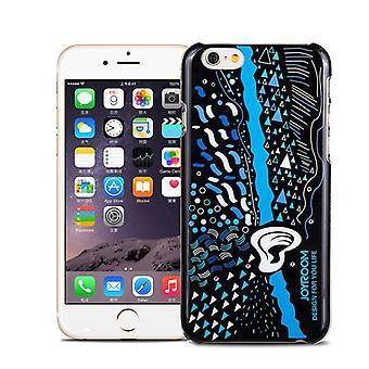 Original JoyRoom style pattern hard case + Crystal for Apple iPhone 6 4.7