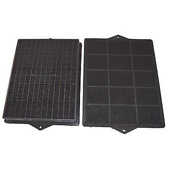 Paquete de filtro de carbón de leña campana Elica tipo 160 carbono de 2