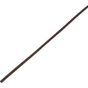 Conrad onderdelen 1243847 CBBOX0307-BN gevlochten slang Brown PET 3 tot 7 mm 10 m