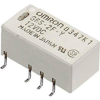 Omron G6S-2F 24 VDC PCB relay 24 V DC 2 A 2 change-overs 1 pc(s)