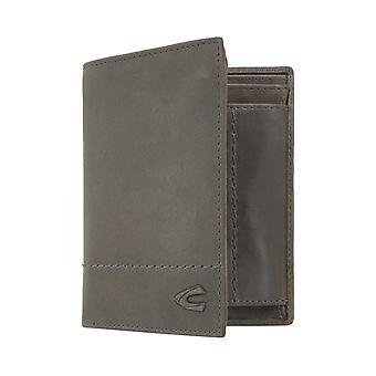 Sac à main camel active mens wallet portefeuille avec le fil gris protection puce RFID 7387