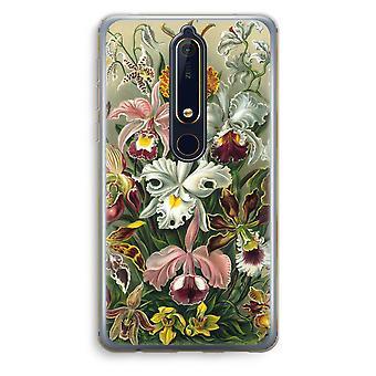 Nokia 6 (2018) gennemsigtig sag (Soft) - arvemassen Orchidae
