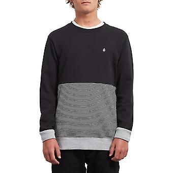 Volcom Threezy Crew sweatshirt i sort