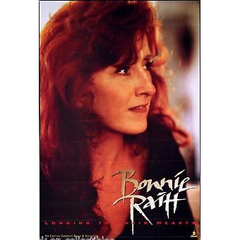 Bonnie Raitt Longing in their Hearts Poster