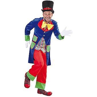 Trajes de homens sorte Clown costume homem