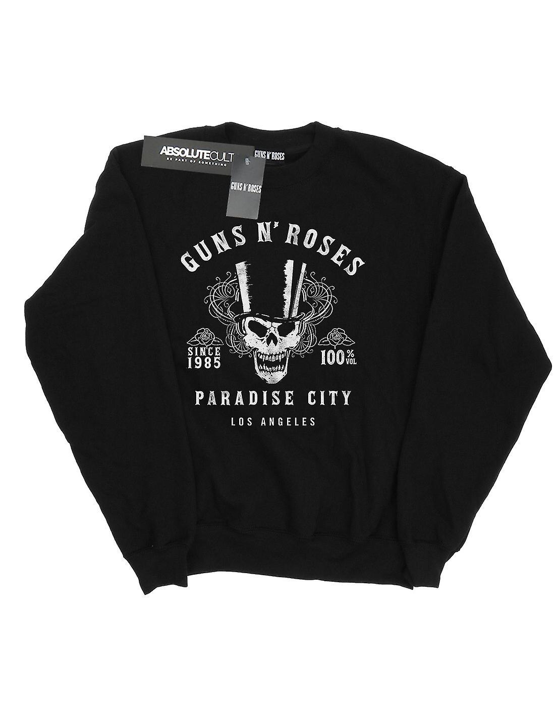 Guns N Roses Women's Whiskey Label Sweatshirt