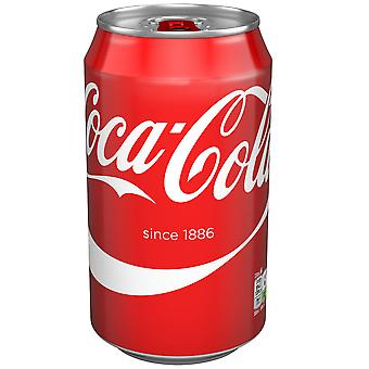 Lattine di Coca Cola Coke