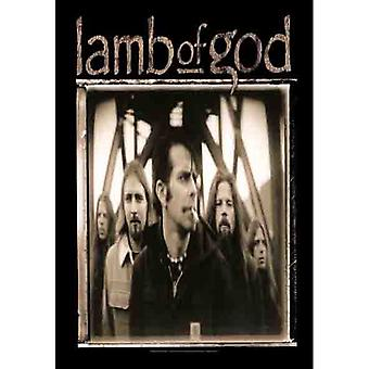 Lamb Of God - Band Shot -Flag