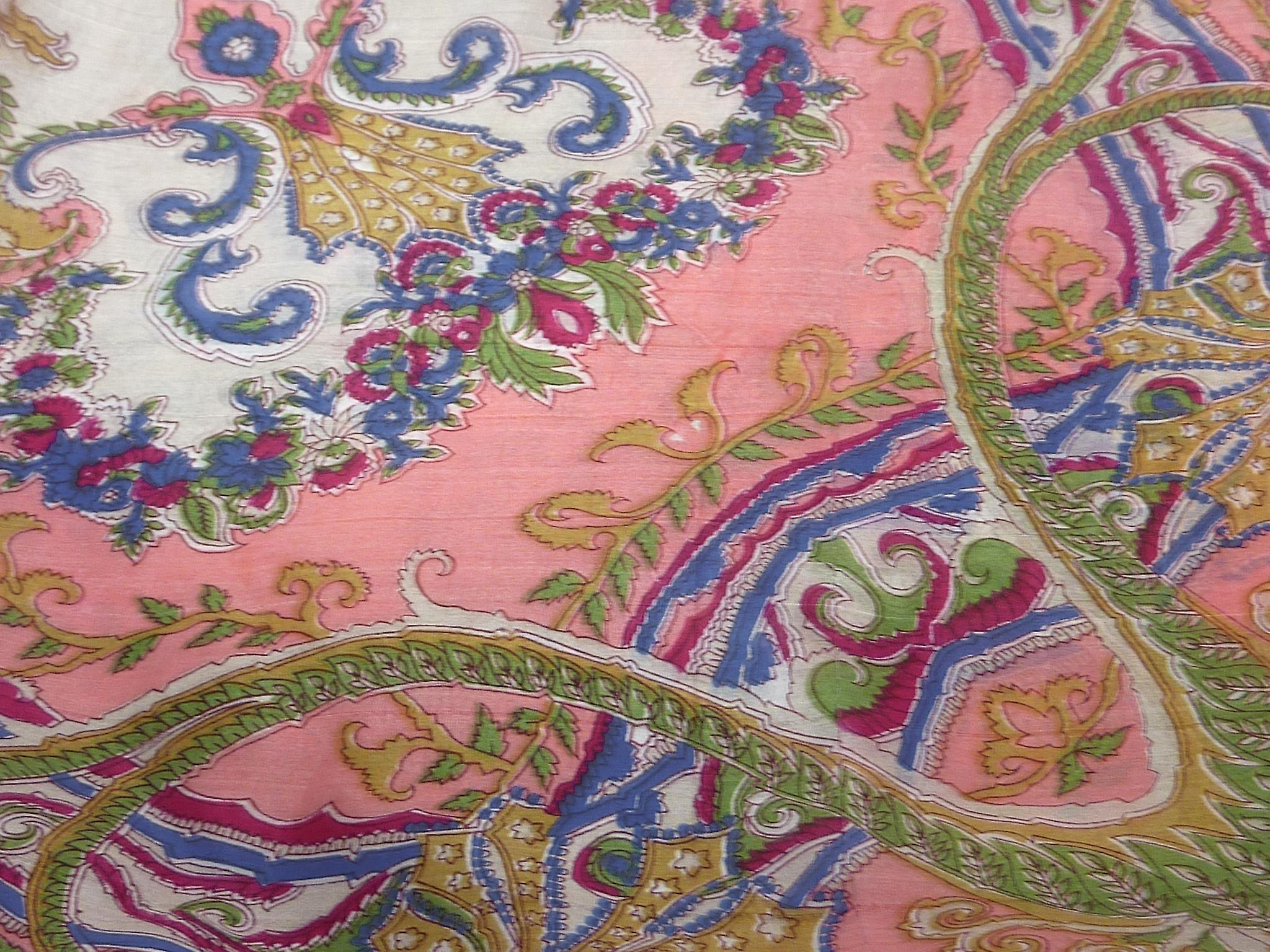 Mulberry Silk Classic Square Scarf Querim Pink by Pashmina & Silk
