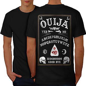 Ouija Horror Men BlackT-shirt Back   Wellcoda